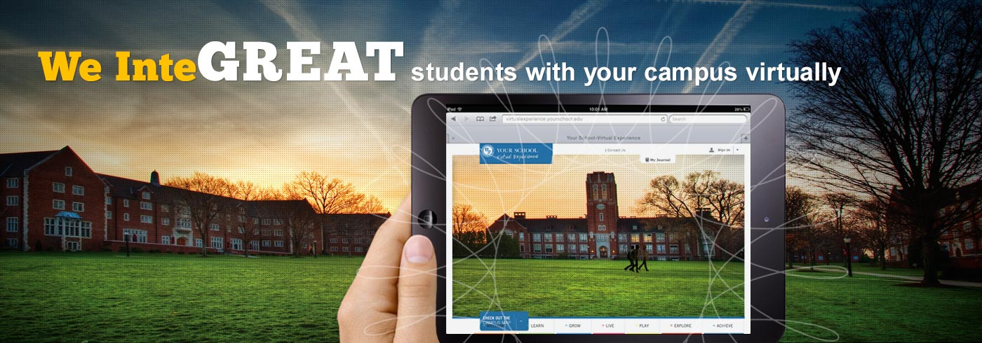 We InteGREAT students with your campus virtually