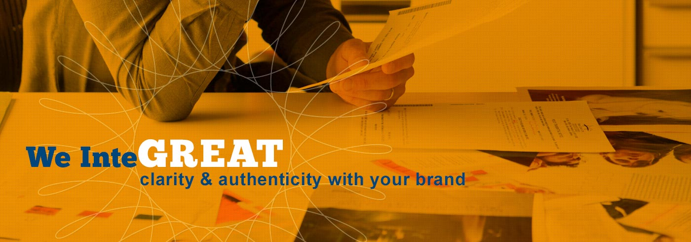 We InteGREAT clarity & authenticity with your brand
