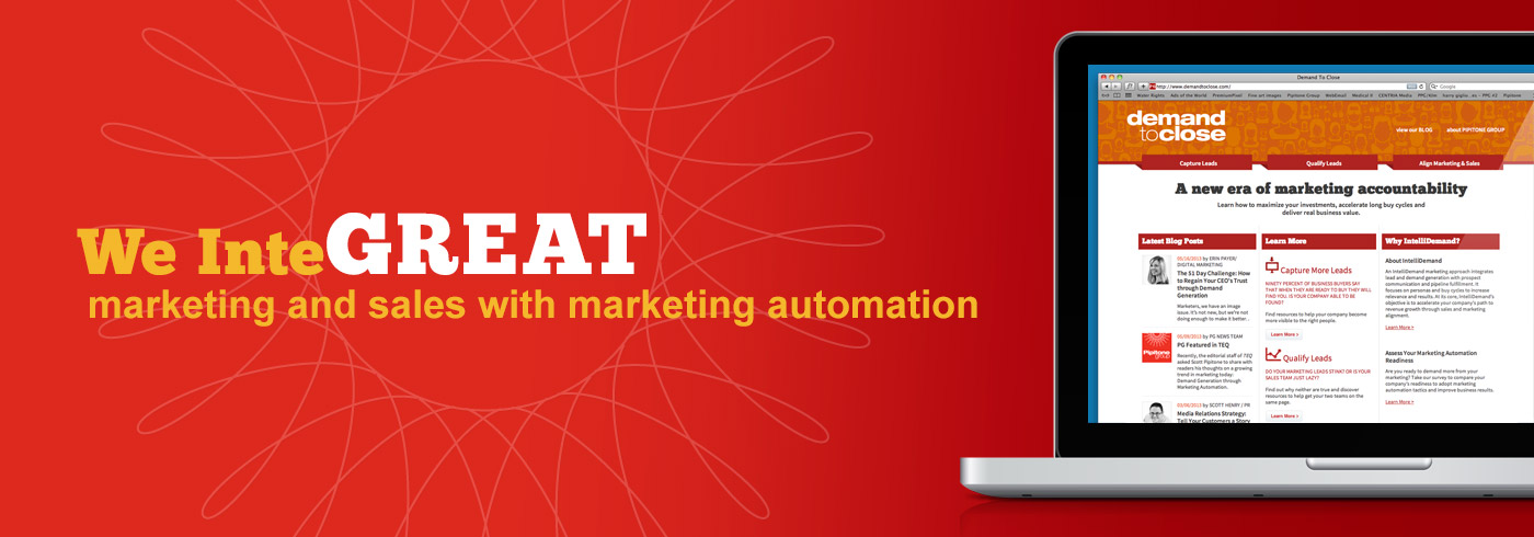 We InteGREAT marketing and sales with marketing automation